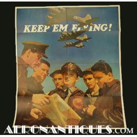 Affiche Propagande Pilote...