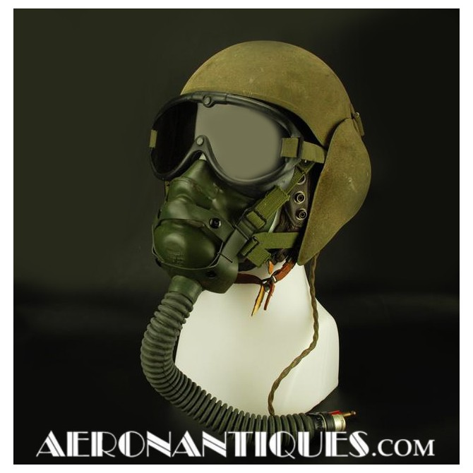 Bomber Flak Helmet M-5 US Army Air Force Pilot WWII