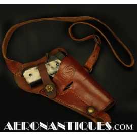 1944 WWII 45 Pistol Leather...