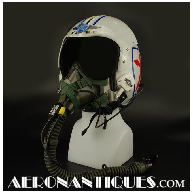 HGU-34/P USMC VMFA-122 Pilot Flight Helmet & Mask