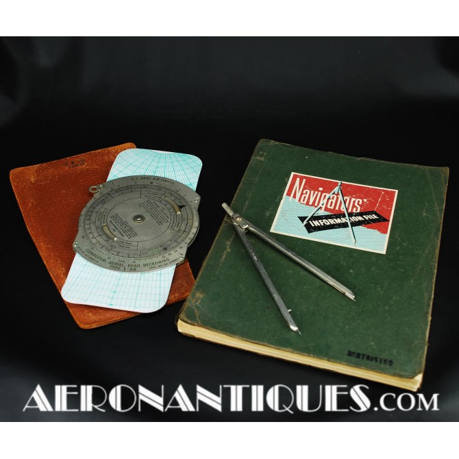WWII US Army Air Force Pilot Navigator Manual Instruments Grouping