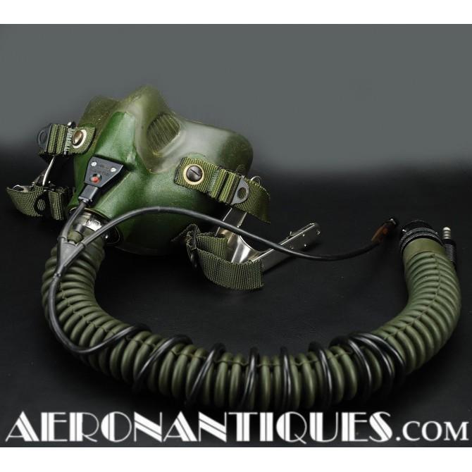 US AIR FORCE Jet Pilot Green MBU-12/P Oxygen Mask USAF