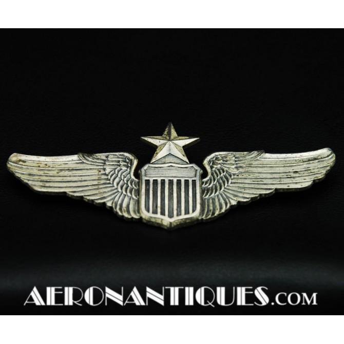 WWII US Army Air Force Senior Pilot VANGUARD Wings Badge