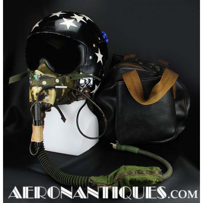 VMF-321 Crusader Pilot APH-6 Flight Helmet & Mask