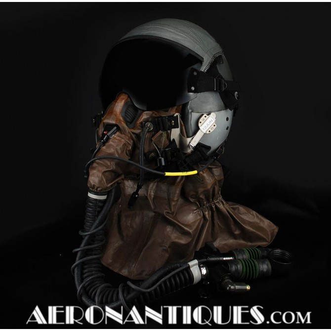 HGU-55/P USAF Pilot Flight Helmet + MBU-19/P Oxygen Mask