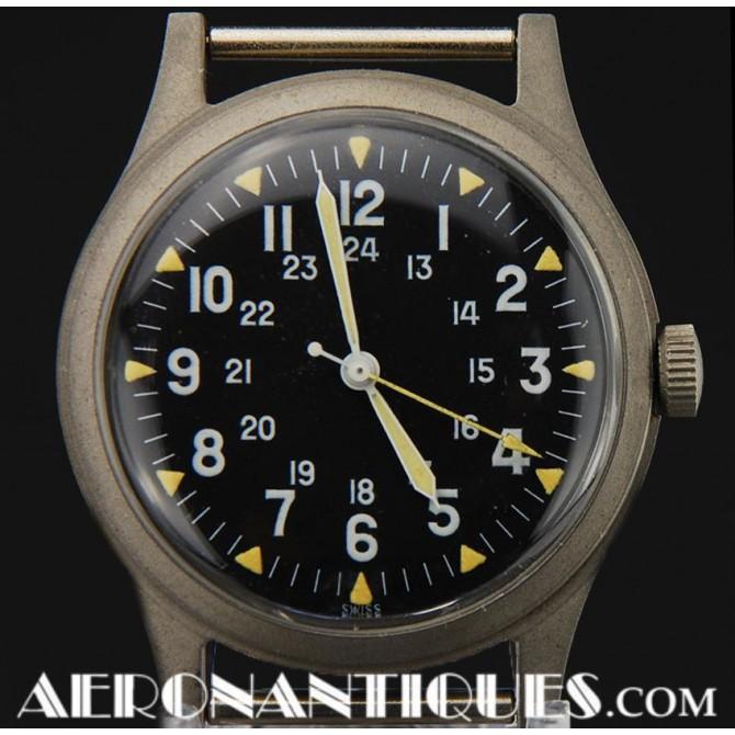 1969 Vietnam Era US Army Air Force HAMILTON Pilot Watch