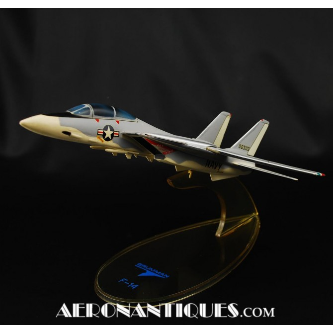 Original Grumann F-14 Tomcat Factory Desk Model