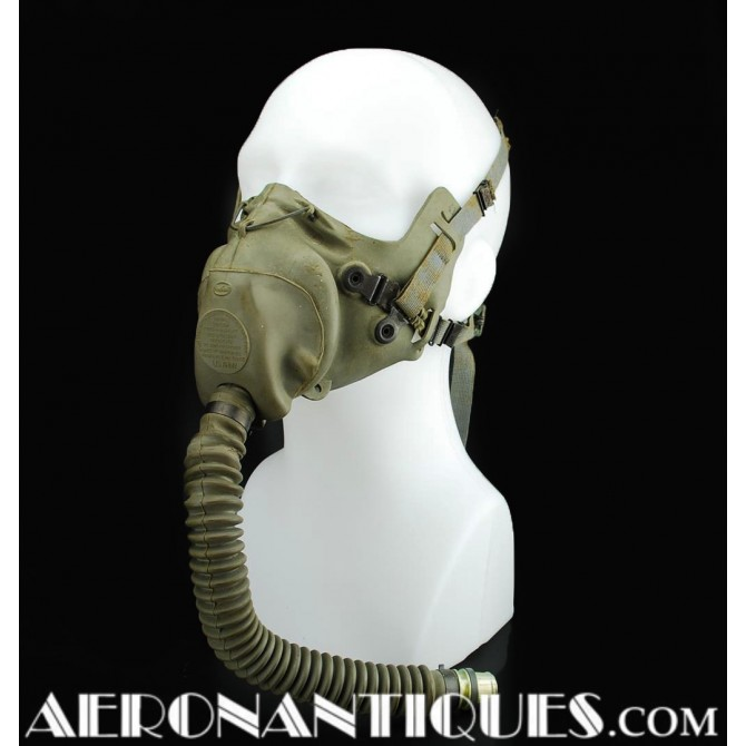 US Army Air Force Pilot A-9 Oxygen Mask WWII USAAF