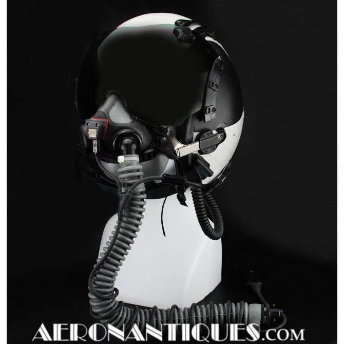 US Navy Pilot HGU-68/P Flight Helmet + MBU-24/p Oxygen Mask