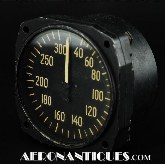 1942 C-47 Dakota Airspeed Indicator Gauge WWII