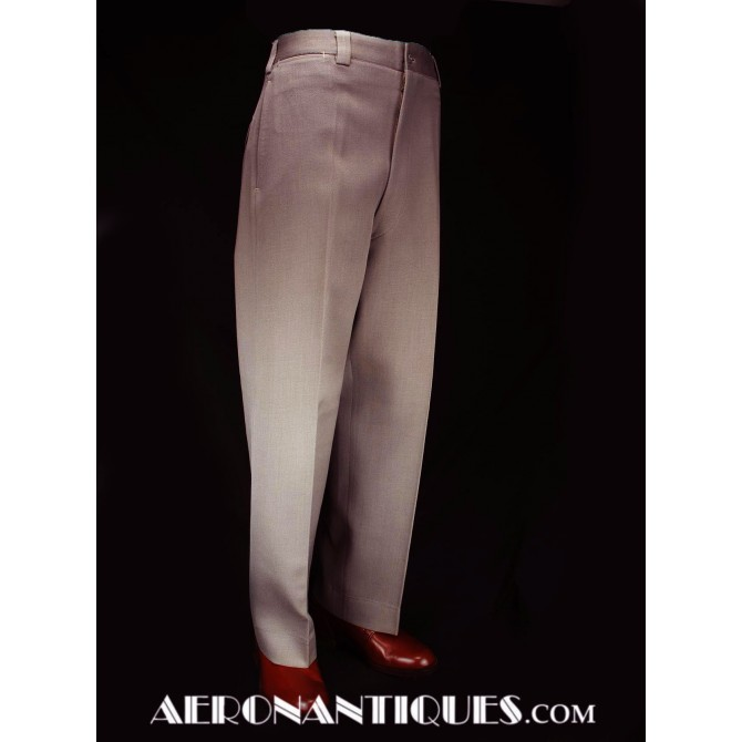 WWII US Army Officers Pink Elastique Wool Trousers
