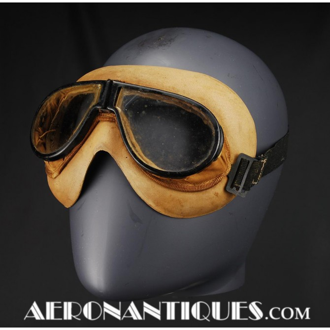 Resistals Flying Goggles US Army Air Force Pilot WWII