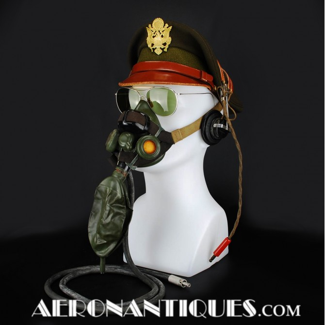 US Army Air Force Bomber Pilot A-8B Oxygen Mask