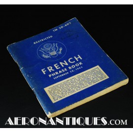 WWII 1943 US Army French...