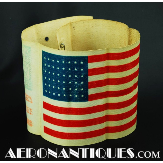 WWII US D-Day Invasion Armband & Pilot Recognition