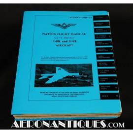Manuel Pilote F-8 Crusader...