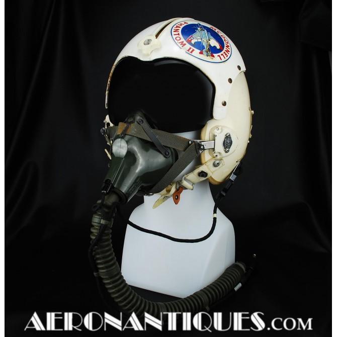 Vietnam HGU-2A/P USAF Pilot Flight Helmet & Mask