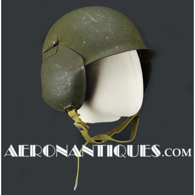 Bomber Flak Helmet M-3 US Army Air Force Pilot WWII