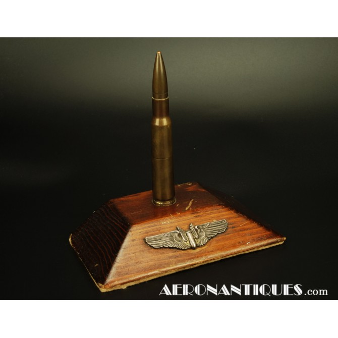 US Army Air Force WWII Gunner Bomber Desk Ligther