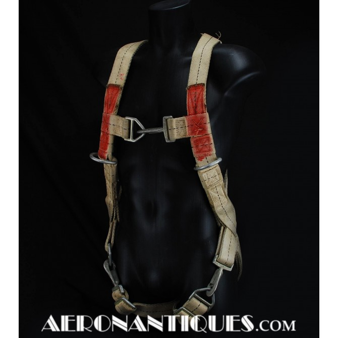 QAC US Army Air Force WWII Bomber Aircrew Harness
