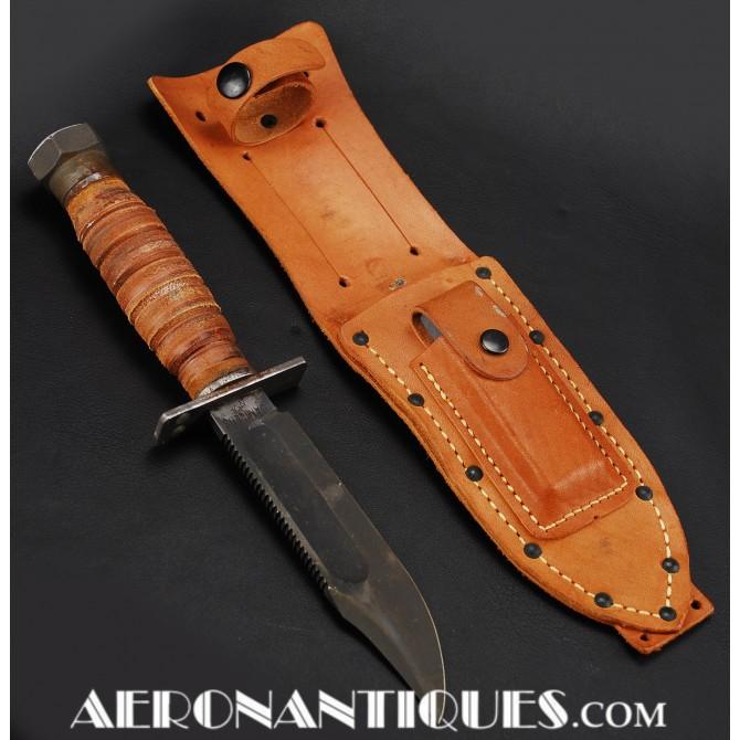 US Navy CAMILLUS Jet Pilot survival knife 1962-66