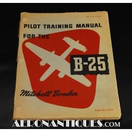 Manuel Pilote B-25 Mitchell...