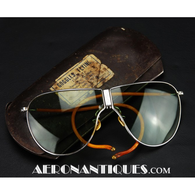 US Army Air Force Pilot D-1 Flying Sunglasses WWII