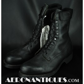 US Navy Pilot Black Leather...