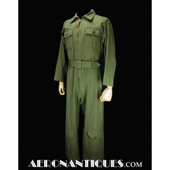 WWII US Army Air Force Pilot Flying Suit AN-S-31 6550