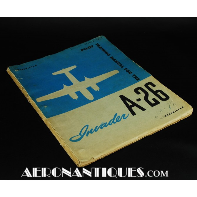 WWII US Army Air Force A-26 Invader Flying Manual