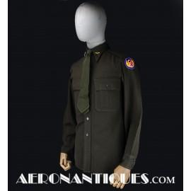 Chemise Cravate Officier US...