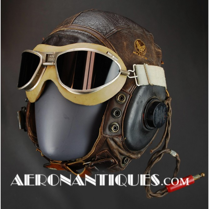 Flying Helmet A-11 US Army Air Force Pilot WWII