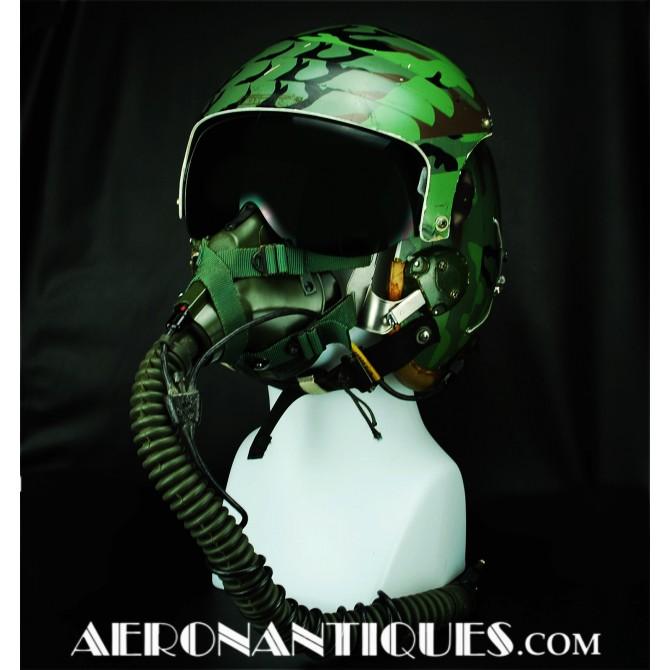Camo HGU-26 USAF US Air Force Pilot Flight Helmet