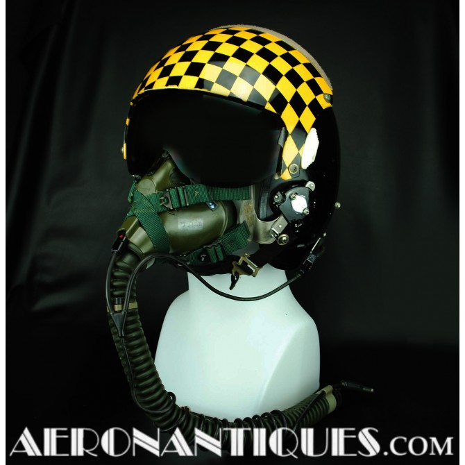 HGU-26 16th TFTS US Air Force Pilot Flight Helmet