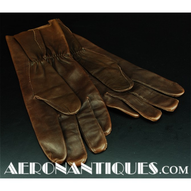 WWII US Army Air Force Pilot B-3A Flying Gloves