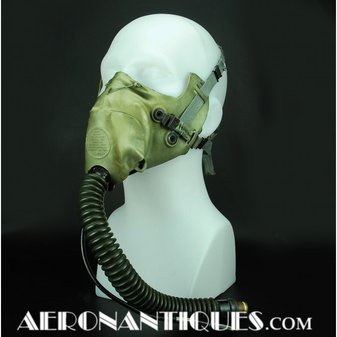 A-9 US Army Air Force Pilot Oxygen Mask WWII