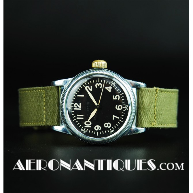 1944 A-11 ELGIN US Army Air Force Pilot Watch