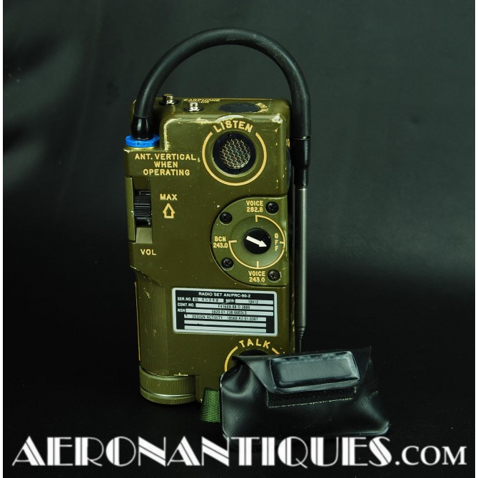 US Navy Air Force Jet Pilot AN/PRC-90-2 Survival Radio