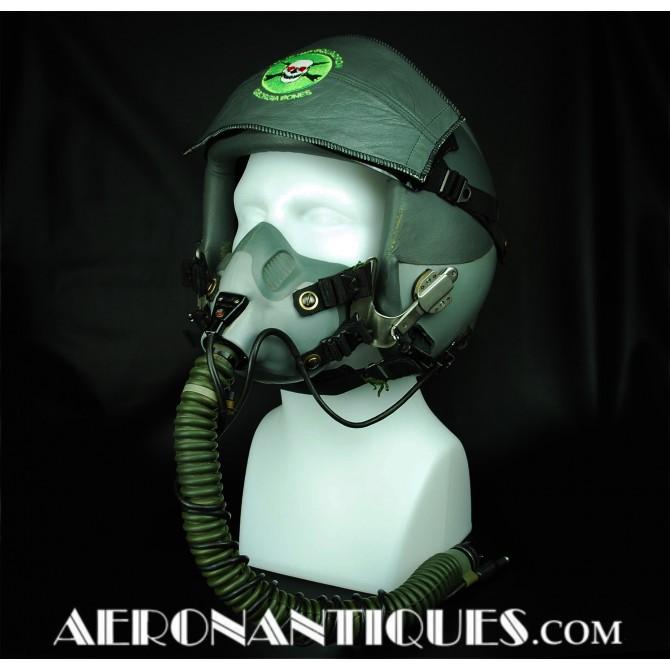 USAF B-1B Pilot HGU-55 Flight Helmet + Oxygen Mask