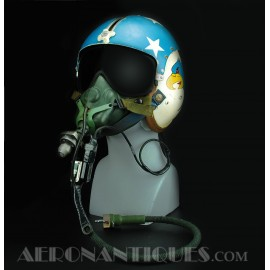 Casque Pilote Jet US Navy...