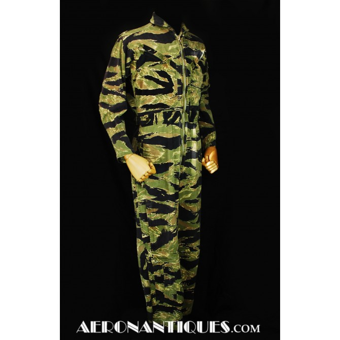 Tiger Stripes US Navy USMC Vietnam Pilot Flight Suit