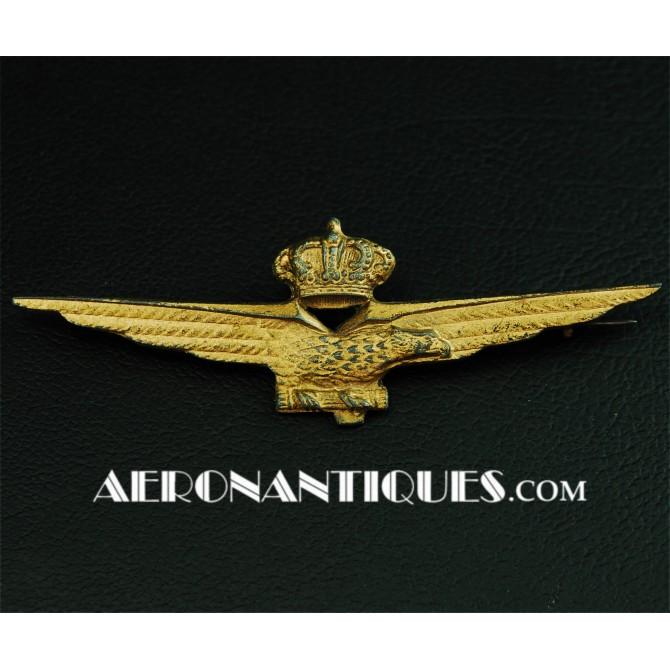 WWII Luftwaffe Italian Pilot Qualification Badge