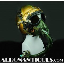 Casque Pilote US Navy H-4 &...