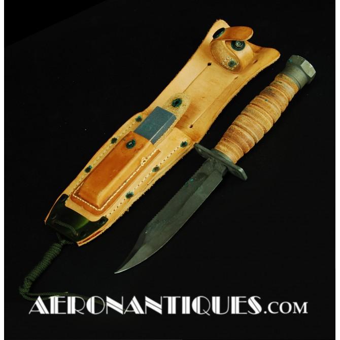 1973 Vietnam USN ONTARIO Jet Pilot Survival Knife