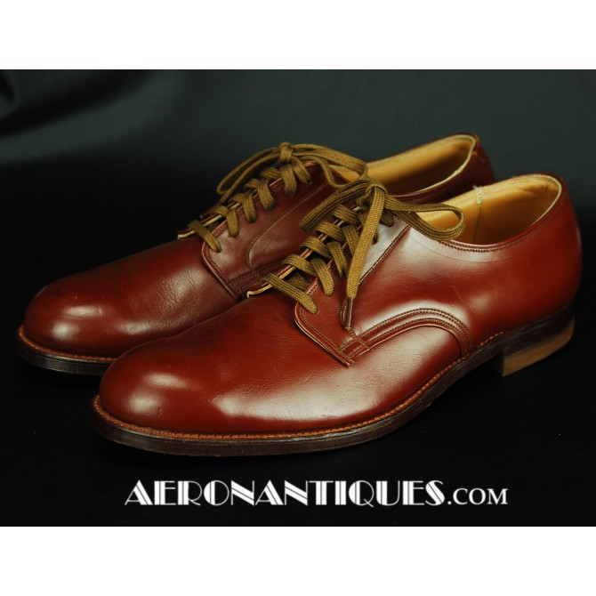 WWII US Army Air Force Pilot Officers Shoes