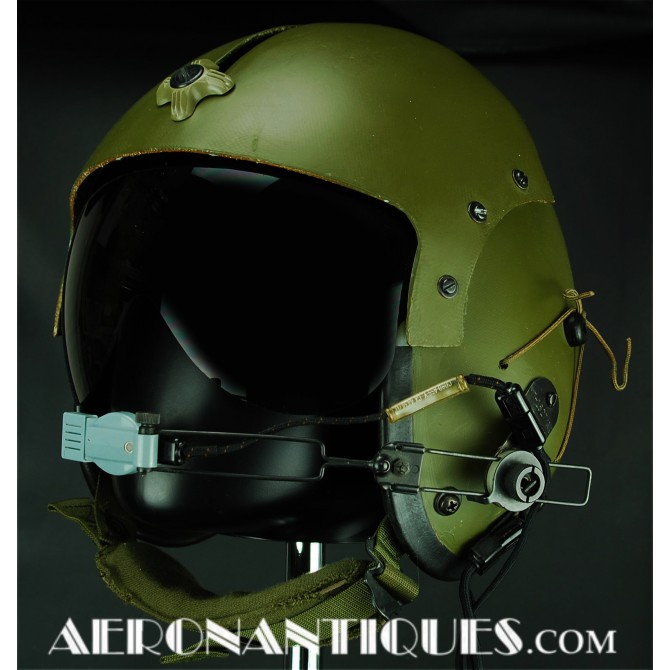 1971 AFH-1 Helicopter US Army Pilot Flight Helmet