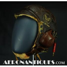 B-6 Leather Flying Helmet...