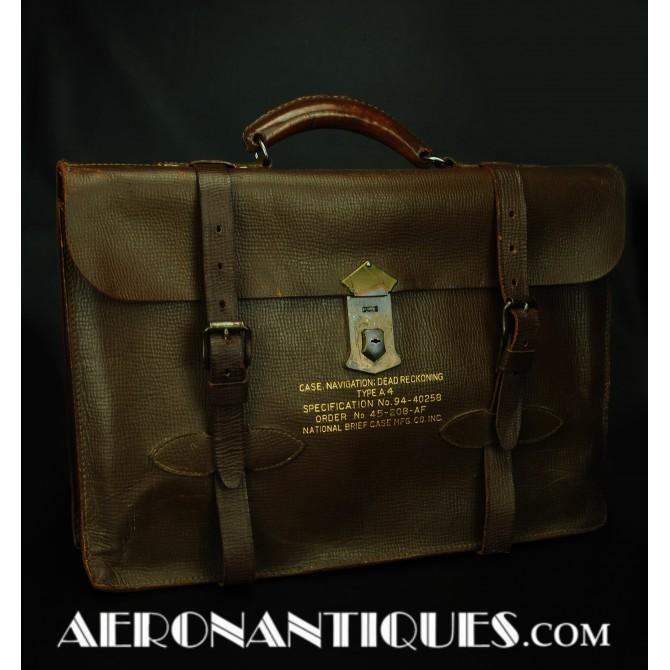 A-4 US Army Air Force Pilot Navigational Briefcase