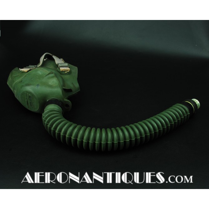 US Army Air Force Pilot A-10 A Oxygen Mask WWII