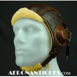 B-6 Leather Flying Helmet...